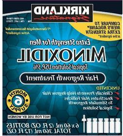 6 Months Kirkland Minoxidil 5 percentage Extra Strength Hair