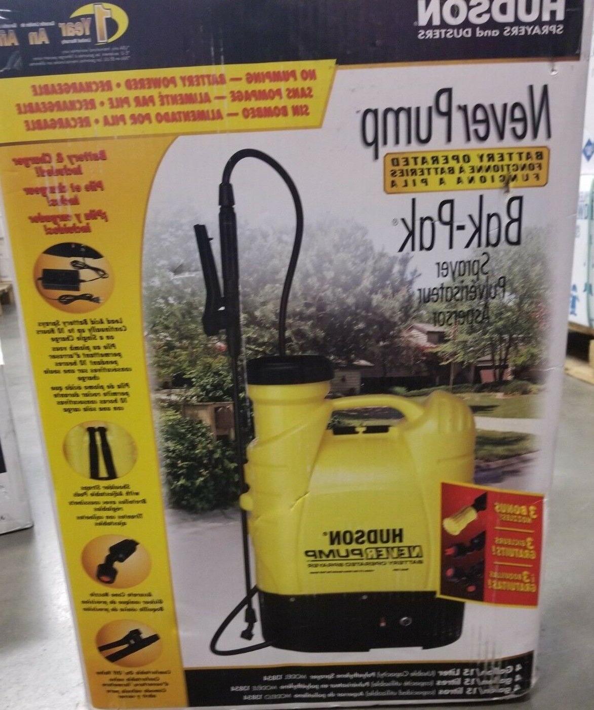 13854 never pump bak pak 4 gallon