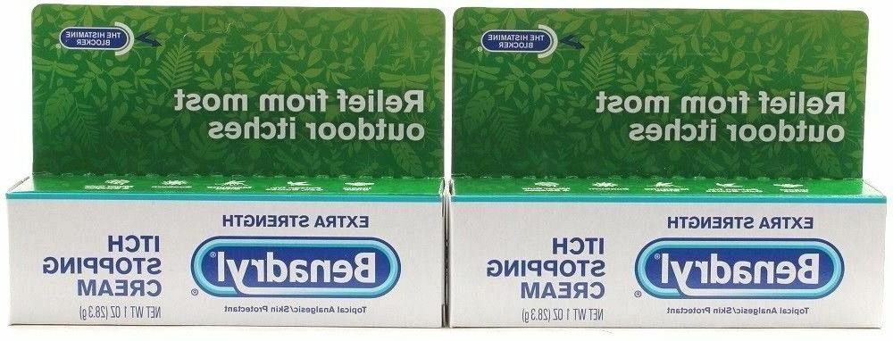 2 extra strength itch stopping cream 1oz