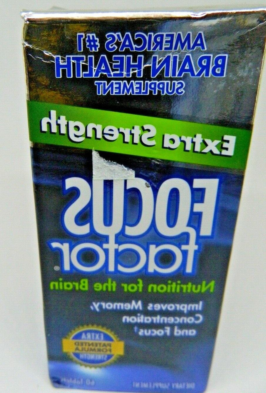 2 extra strength memory concentration focus 120