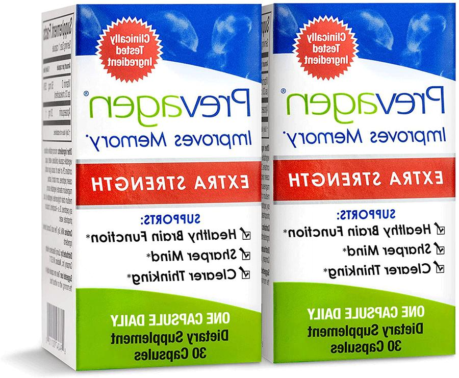 2 pack improves memory extra strength 20mg