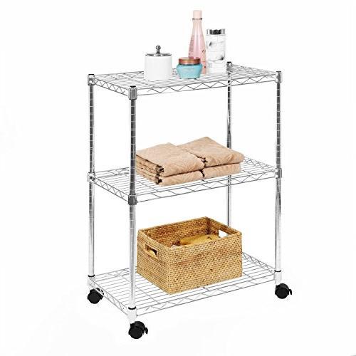 3 tier ultrazinc shelving cart