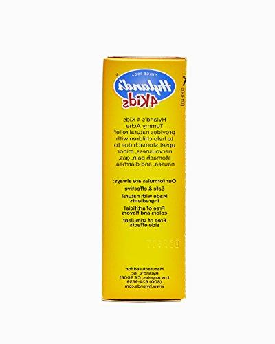 Hyland's 4 Tummy Ache of Upset Stomach, Diarrhea and for Children, 50