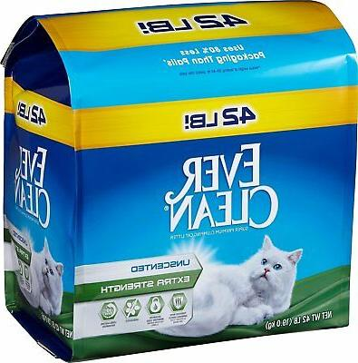 42lb bag ever clean extra strength unscented