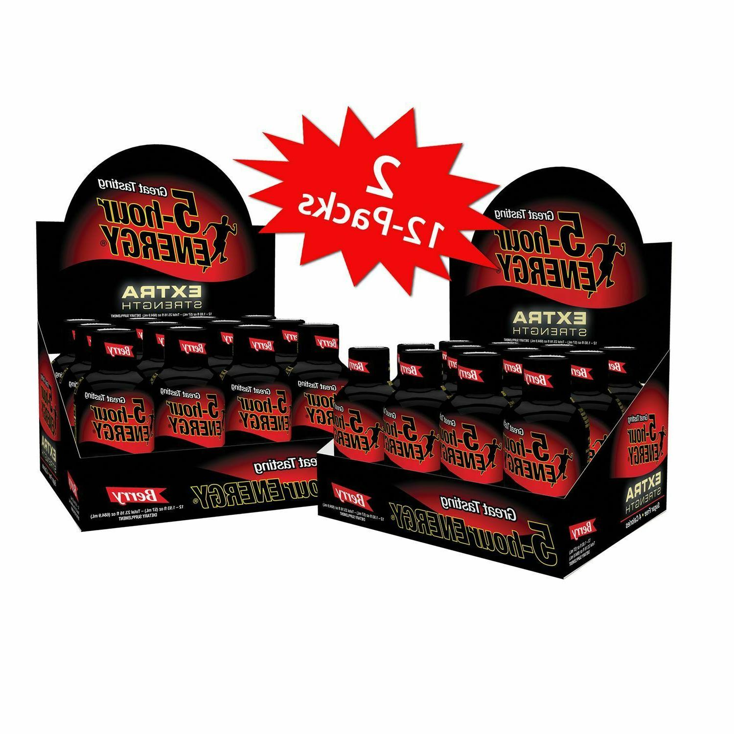 5-Hour Energy Strength Berry shipping