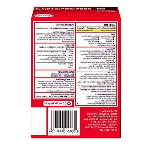 Tylenol with and Pain Relief, Pouches each