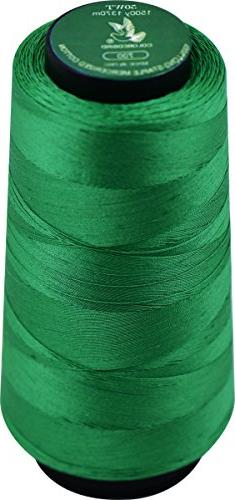 50WT 1370m 1500yards Cone Quilting&Serger Sewing Thread, 100