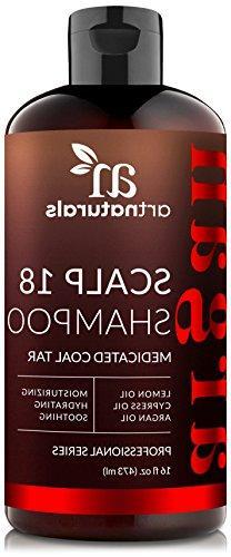 ArtNaturals Dandruff Shampoo, Coal Tar with Argan Oil, Scalp