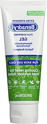 Benadryl Extra Strength Itch Stopping Gel 3.5 oz