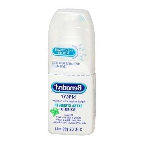 Benadryl Itch Cooling Spray Extra Strength 2 OZ - Buy Packs