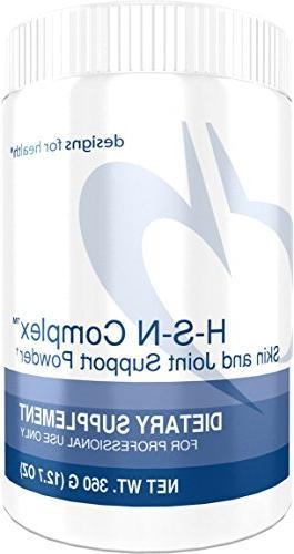 Designs for Health - H-S-N Complex Powder - 2500mcg Biotin +