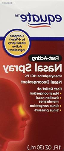 Equate - Nasal Spray Four, 1 oz, Phenylephrine Hydrochloride