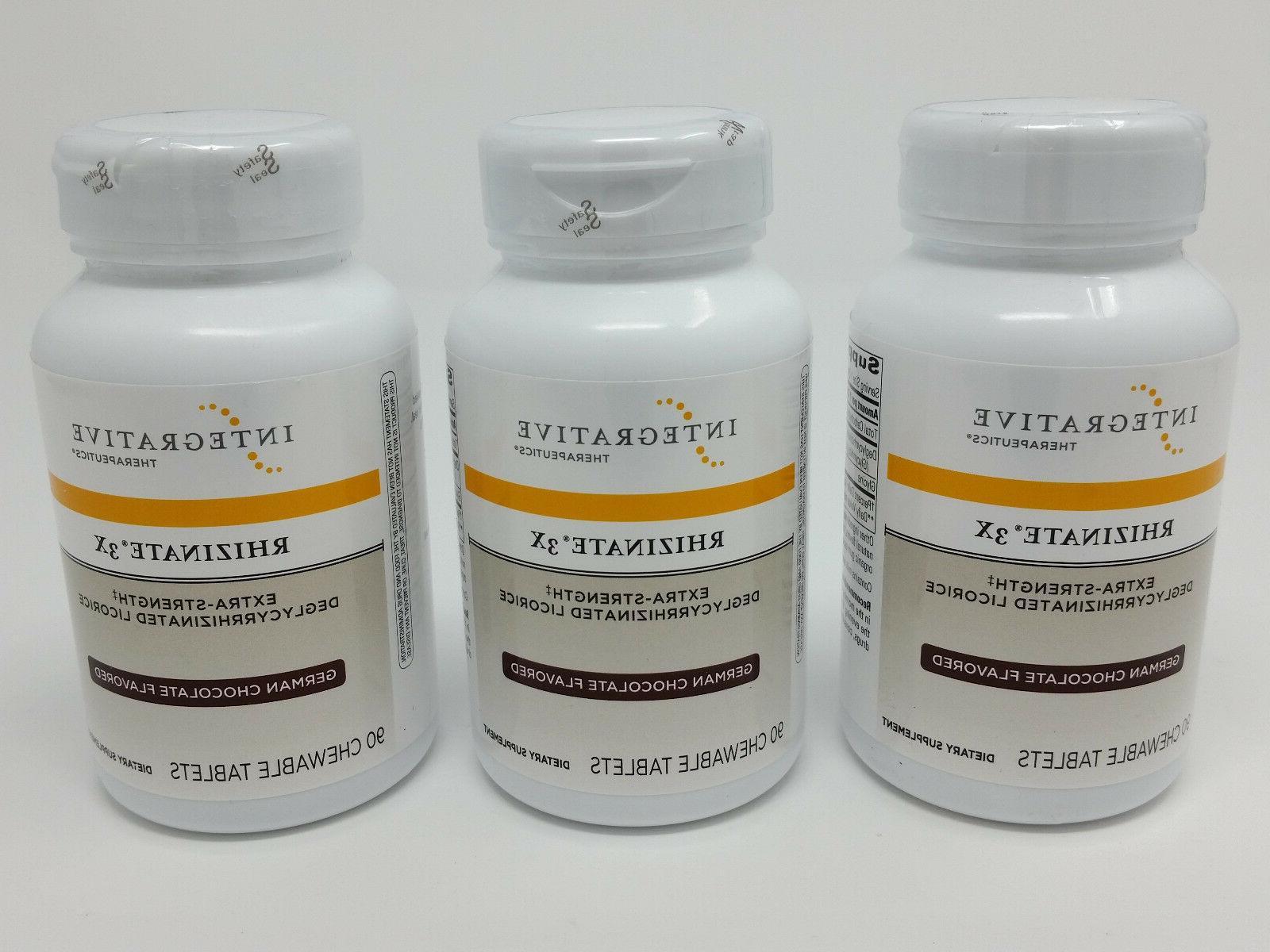 Integrative Therapeutics - Rhizinate 3X - Extra Strength DGL