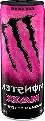 MAXX Monster Solaris, Maximum Strength, Energy Drink, 12 oun