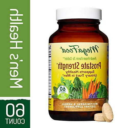 MegaFood - Prostate Strength, Multimineral and Herbal Suppor