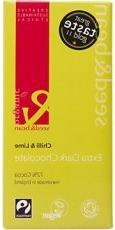 Seed and Bean - Organic Fairtrade Chilli and Lime Dark Choco