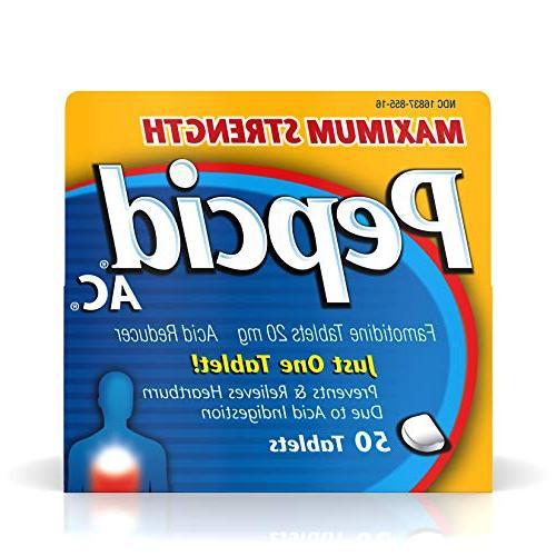 ac acid reducer maximum