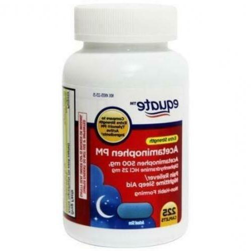acetaminophen pm extra strenght 225