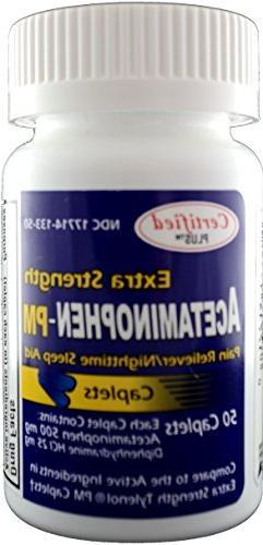 Acetaminophen Pain Fever Reducer, Antihistamine Generic 300 Caplets