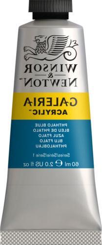 Winsor & Newton Galeria Acrylic Color 60ml Phthalo Blue