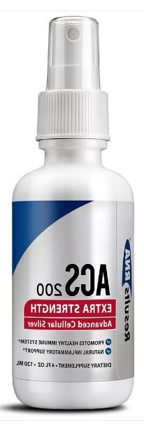 Results RNA ACS 200 SILVER Extra Strength 4oz  *  Exp 09/21+
