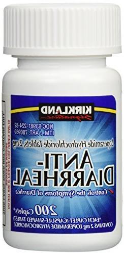 Anti-Diarrheal Loperamide Hydrochloride 2 mg 2,800 Caplets T