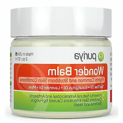 Antifungal Balm for Athletes Foot, Ringworm, Jock Itch and F
