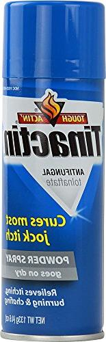 Tinactin Antifungal Powder Spray for Jock Itch, Value Size 4