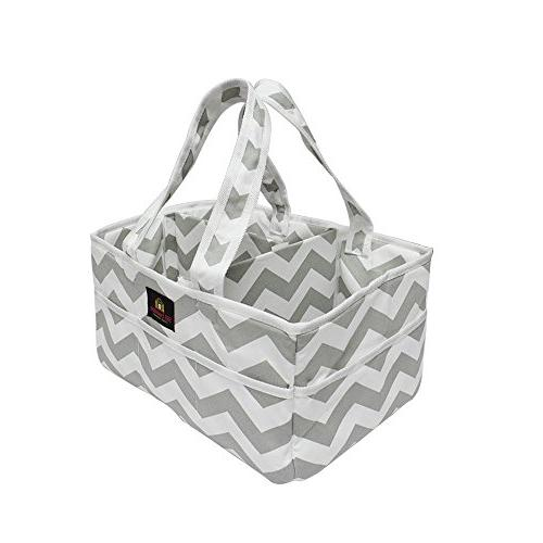 baby diaper caddy nursery tote