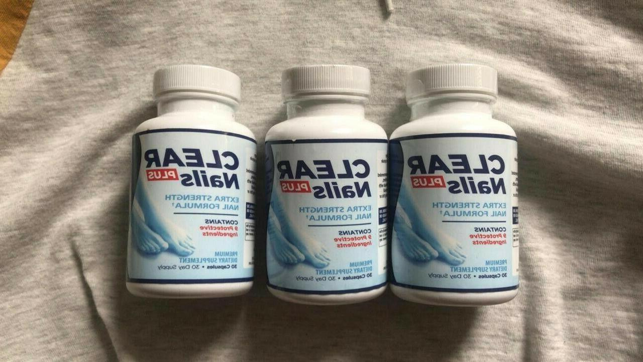 clear nails plus nails extra strength formula
