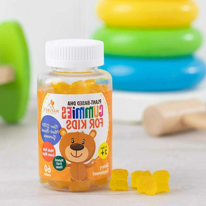 DHA Gummies Extra Omega DHA Vitamins