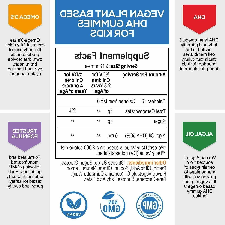 DHA for Extra Vegan Omega Vitamins