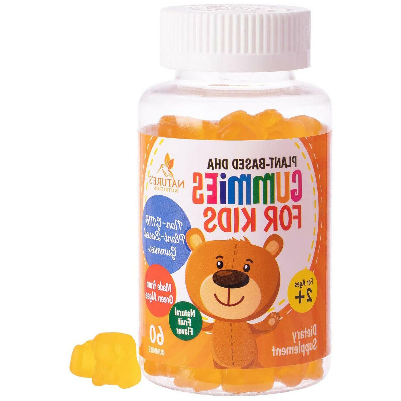 dha gummies for kids extra strength children