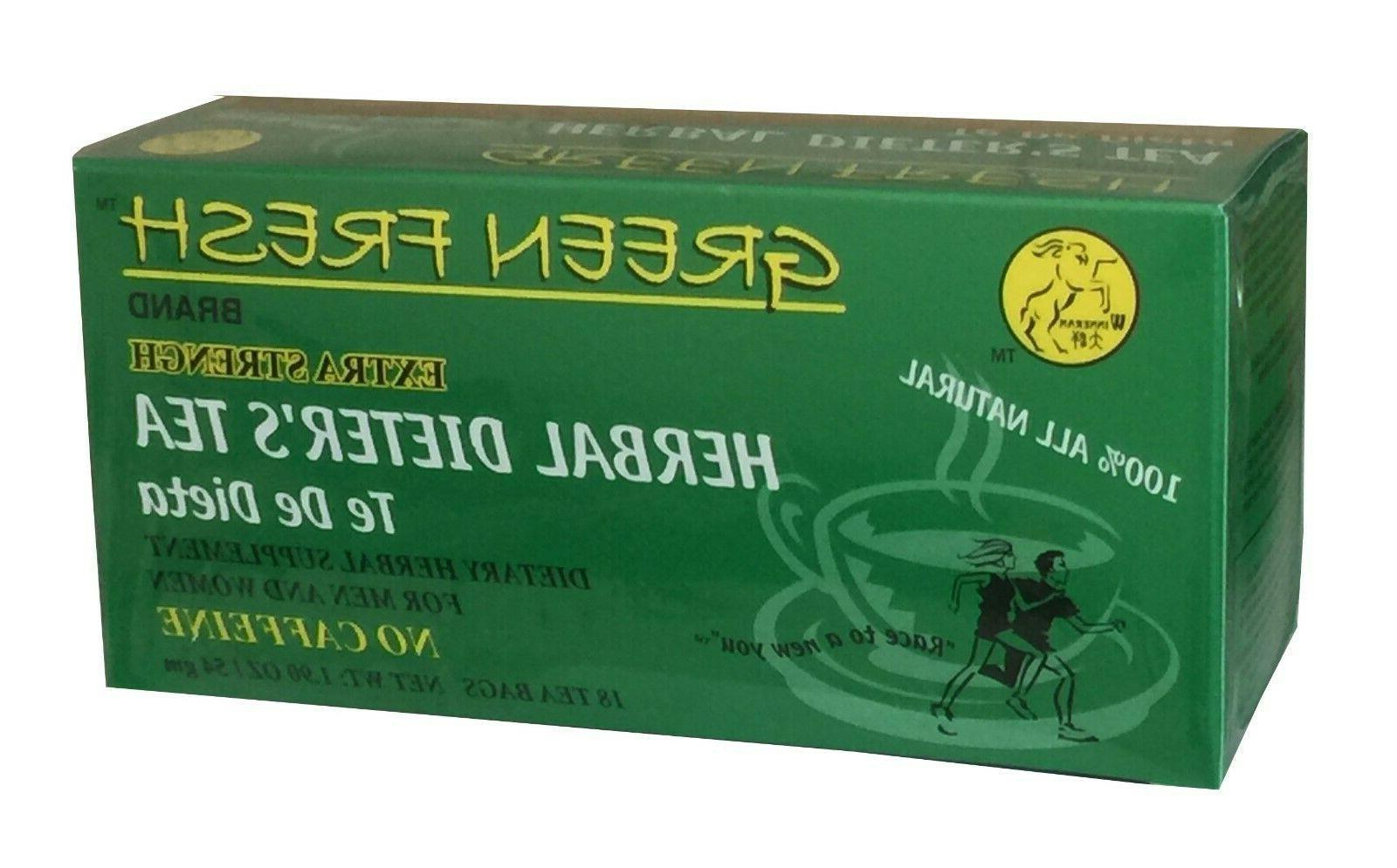 dieters tea extra strength 18 tea bags