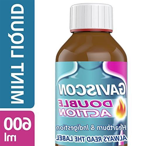 double action mint liquid