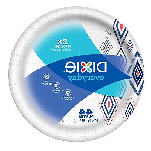 Dixie Everyday 10 count, 5 Plates, Disposable Plates