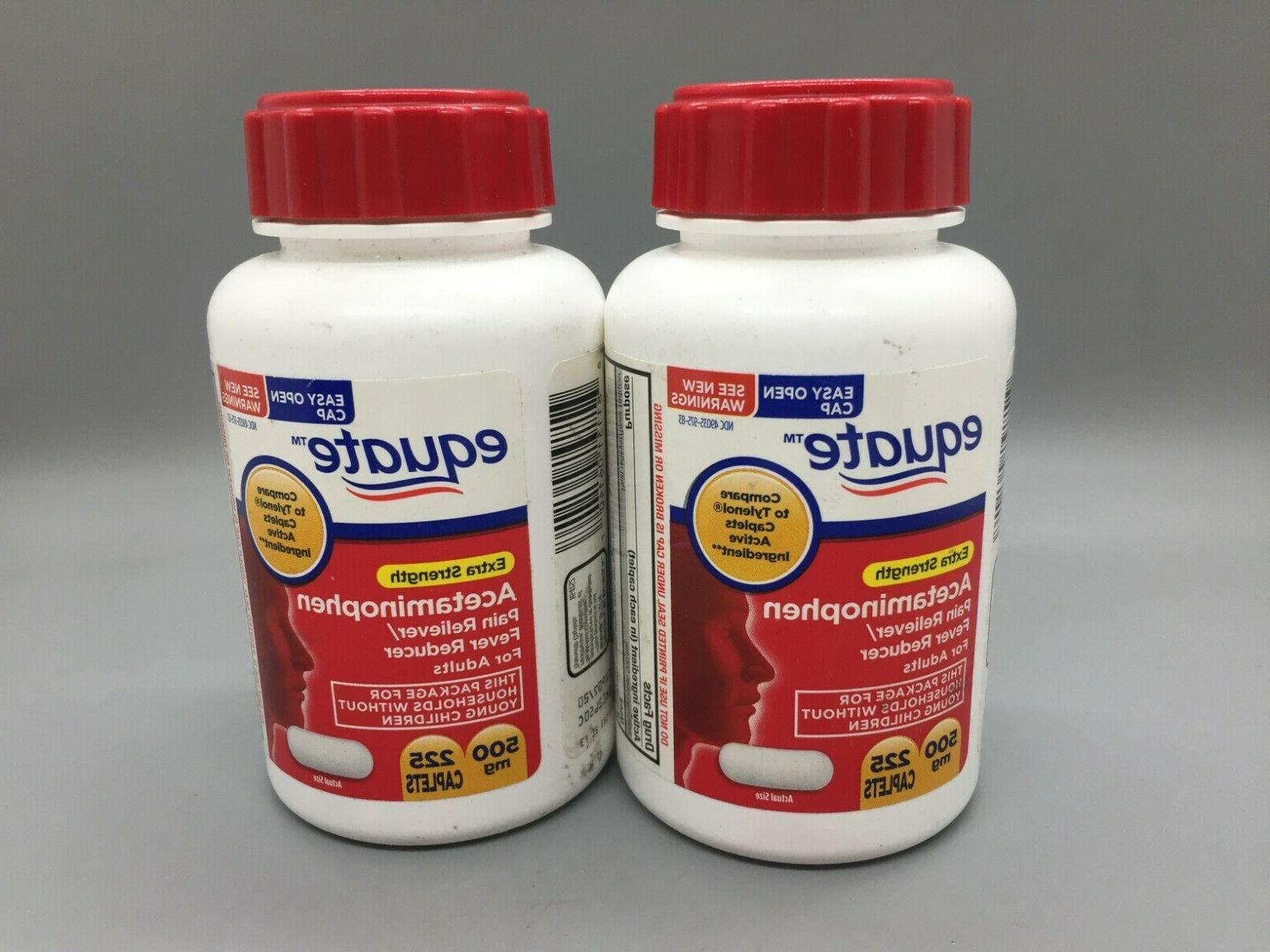 extra strength 500 mg acetaminophen pain relief