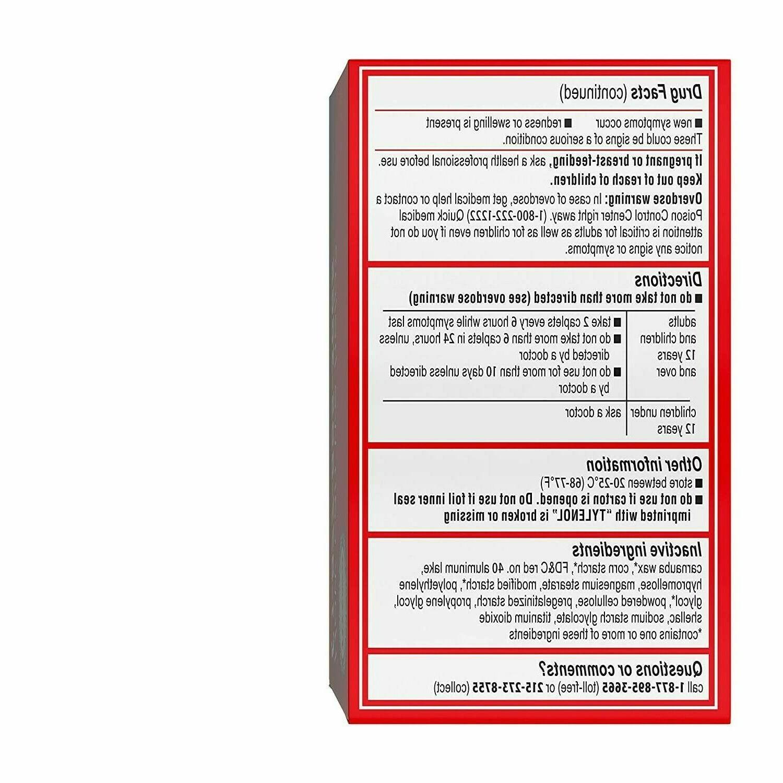 Tylenol Extra 500mg 225ct Caplets 02-2024-