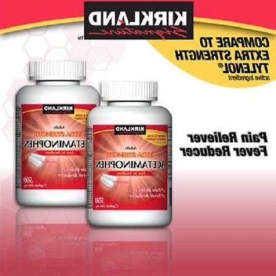 extra strength acetaminophen 1000 500 mg caplets