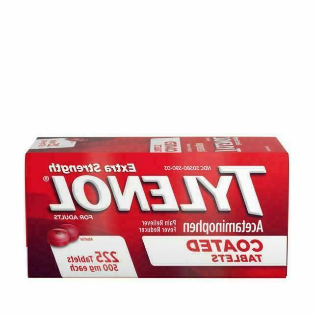 extra strength acetaminophen pain reliever 500 mg