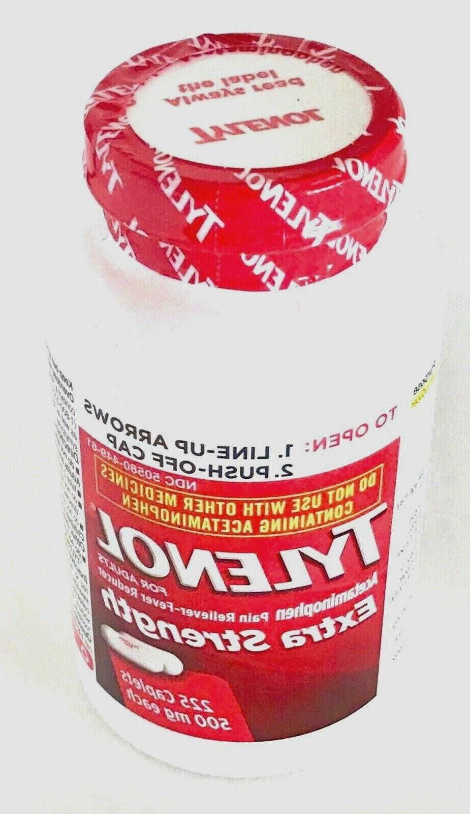 Equate Strength Pain 500mg, 225