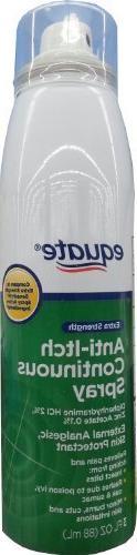 Equate Extra Strength Anti-Itch 3oz Continuous Spray Compare