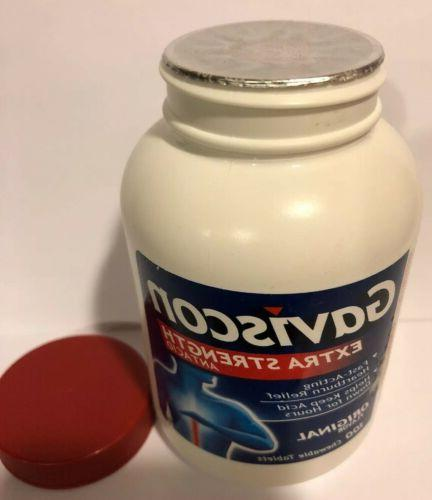 Gaviscon Strength Antacid Tablets, 100 Ct Exp: 07/2021