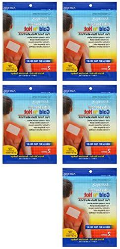 Extra Strength Cold 'n Hot Pain Relief Therapeutic Medicated
