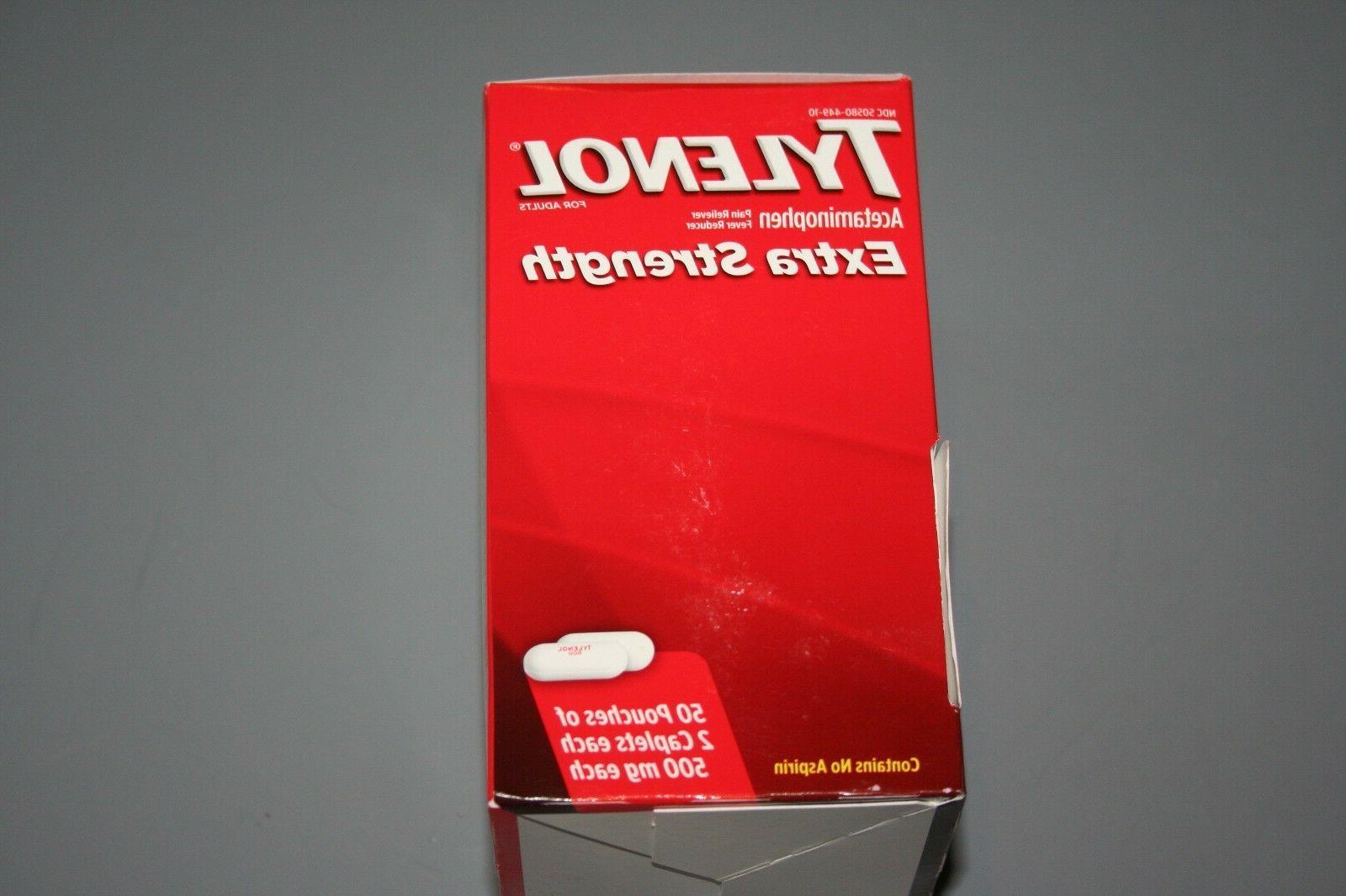 TYLENOL Box 50 - 2 caplets