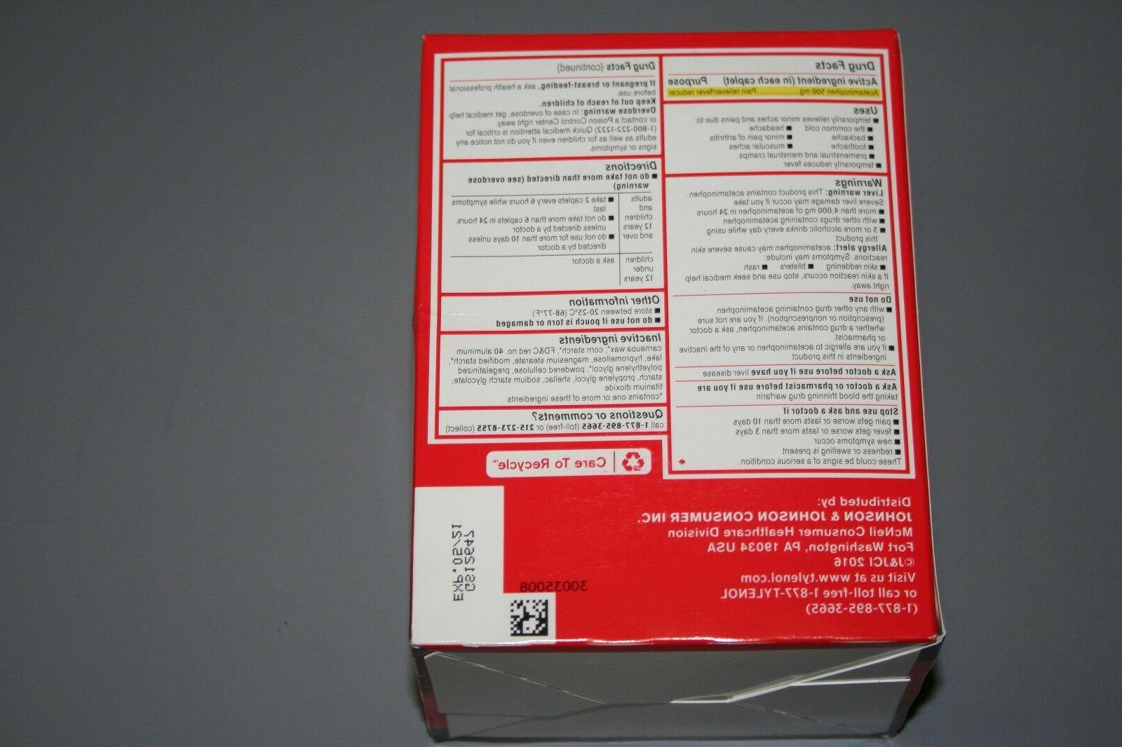 TYLENOL EXTRA Box 50 - 2