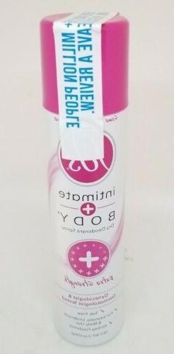 FDS Extra Strength Feminine Deodorant Spray, 2oz, 2 Pack 365