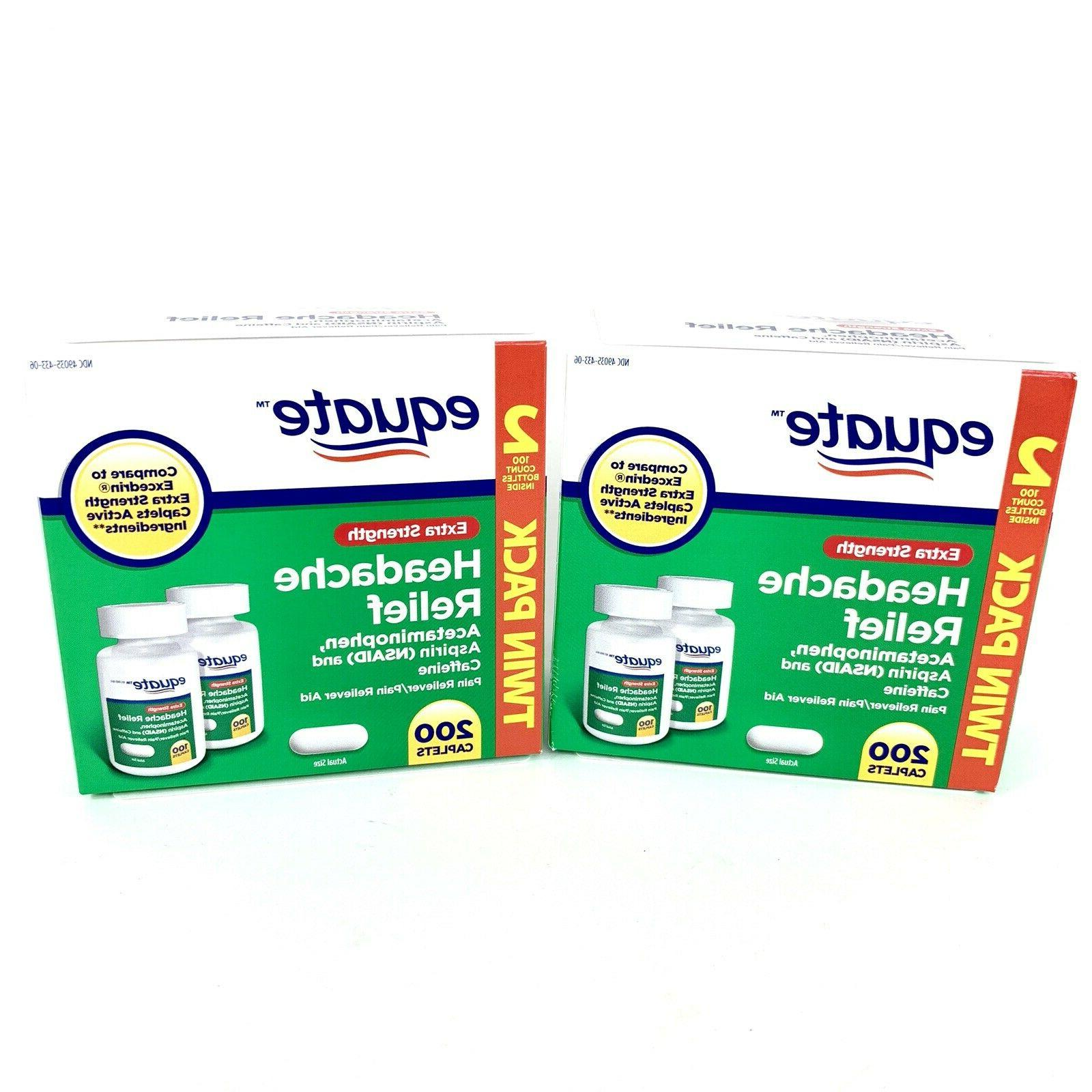 Equate Extra-Strength Relief 2 TWIN