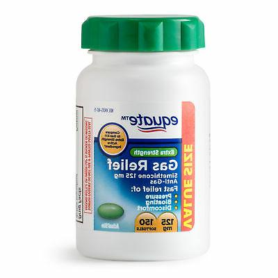 Extra Strength Gas Relief, Simethicone 125mg, 96 Chewable Ta