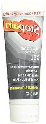 Stopain Extra Strength Gel Tube, 4 Fluid Ounce